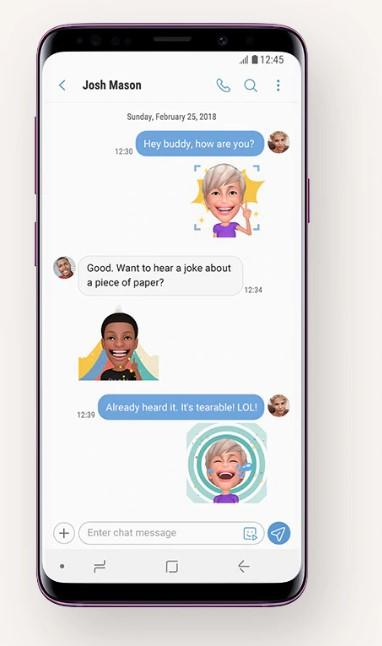 AR-emoji-chat-samsung-S9